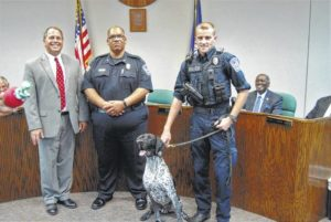 K9 Percy promoted