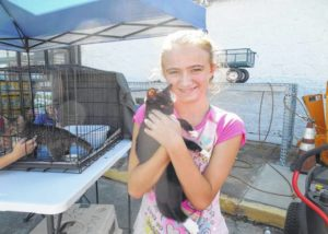 Adopt-a-thon at Tractor Supply